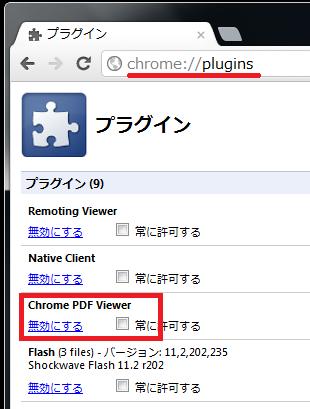 About Plugins Google Chrome
