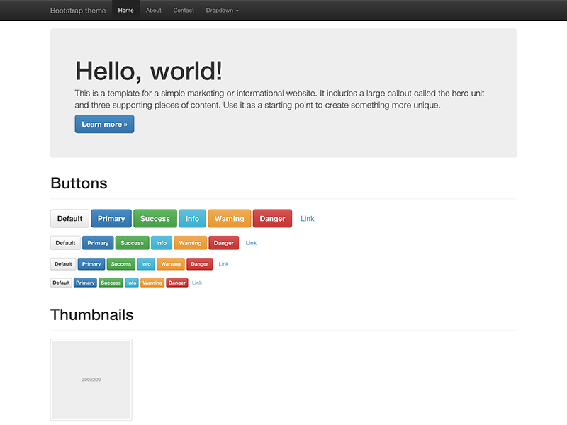bootstrap3-theme